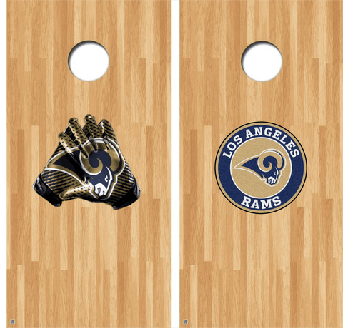 Los Angeles Rams Cornhole Decals NFL Cornhole Decals Buy 2 Get 1 FREE