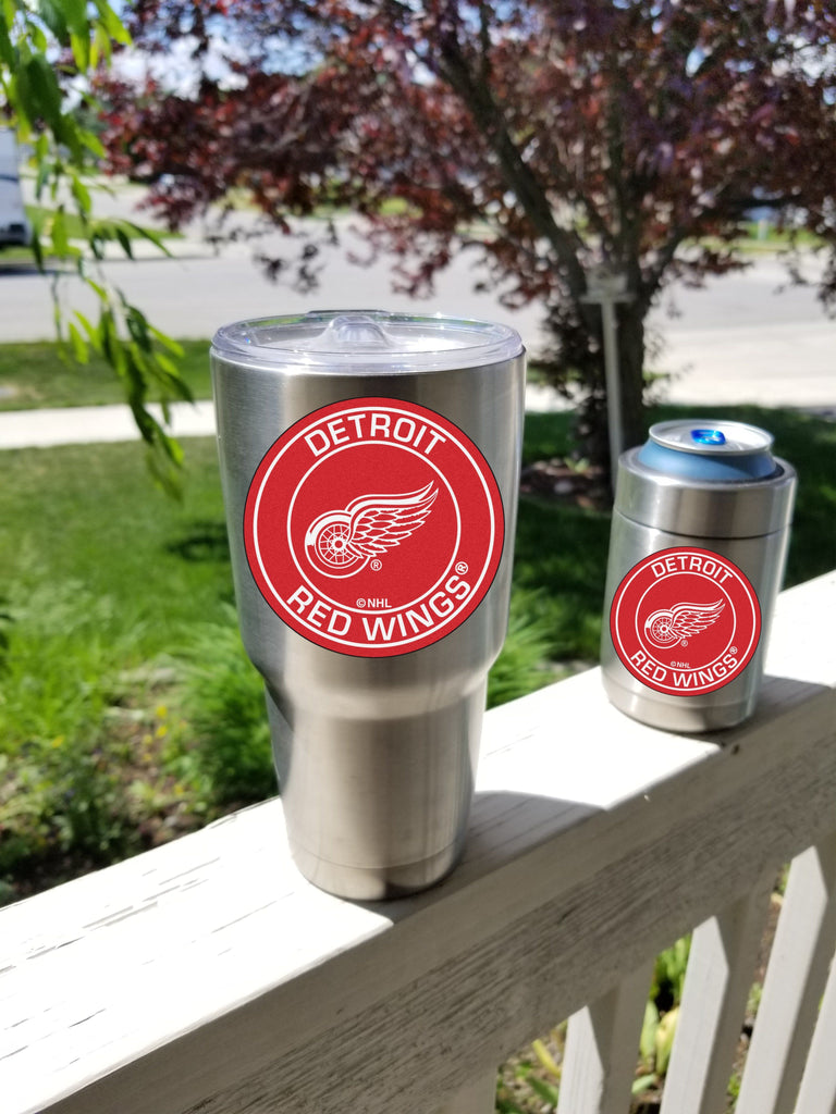 RED WINGS Tumbler Decals fits 30oz & 20oz Tumblers Buy 2 Get 1 Free! Free Shipping!