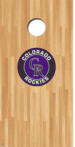 Colorado Rockies Cornhole Decals MLB Cornhole Decals Buy 2 Get 1 FREE