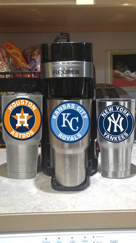 Royals Tumbler Vinyl Decals fits 30oz & 20oz Tumblers Buy 2 Get 1 Free! Free Shipping!