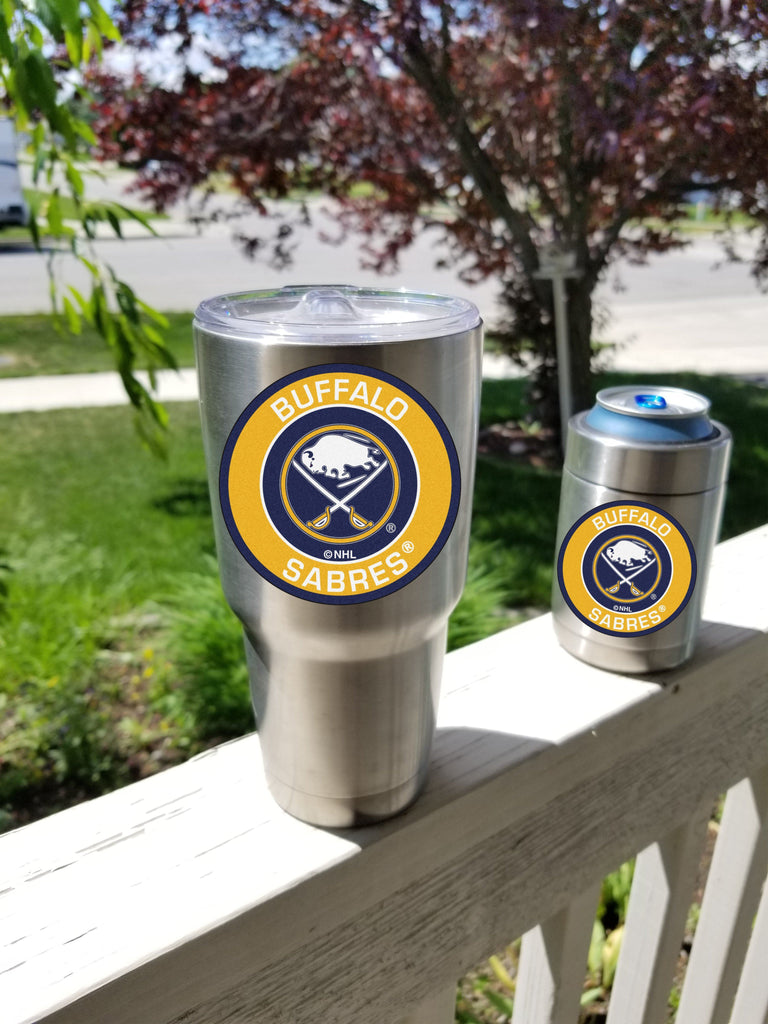 SABRES Tumbler Decals fits 30oz & 20oz Tumblers Buy 2 Get 1 Free! Free Shipping!