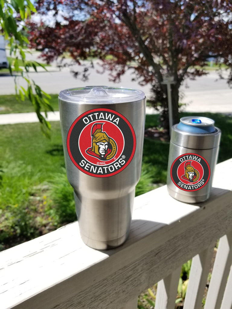 SENATORS Tumbler Decals fits 30oz & 20oz Tumblers Buy 2 Get 1 Free! Free Shipping!
