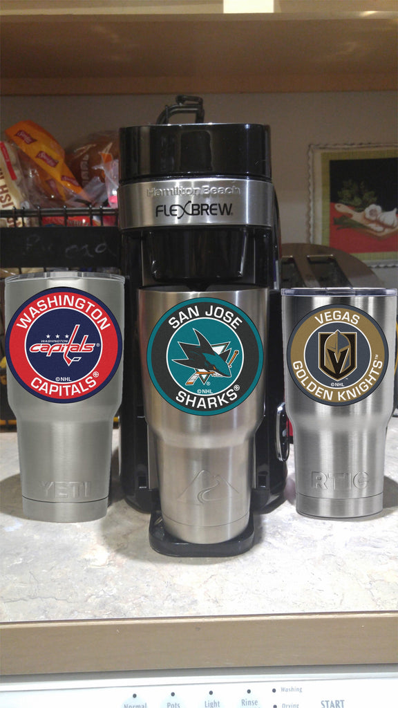 SHARKS Tumbler Decals fits 30oz & 20oz Tumblers Buy 2 Get 1 Free! Free Shipping!