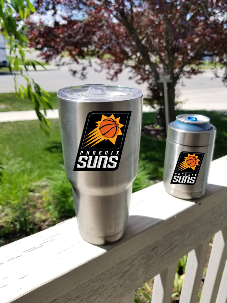 Phoenix Suns Tumbler Vinyl Decals fits 30oz & 20oz Tumblers Buy 2 Get 1 Free! Free Shipping!