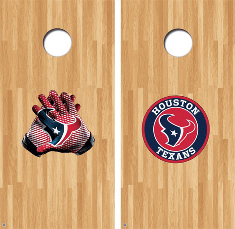 Houston Texans Cornhole Decals, Texans Vinyl Decal, NFL Cornhole Decals Buy 2 Get 1 FREE!