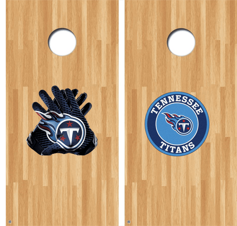 Tennessee Titans Cornhole Decals, Titans Vinyl Decal, NFL Cornhole Decals Buy 2 Get 1 FREE!