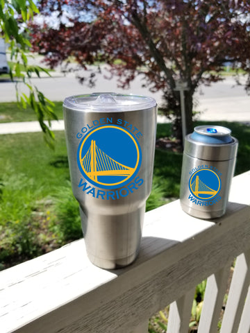 Golden State WARRIORS Tumbler Decals for 30oz & 20oz Tumblers Buy 2 Get 1 Free!