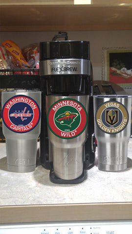 Image of WILD Tumbler Decals fits 30oz & 20oz Tumblers Buy 2 Get 1 Free! Free Shipping!