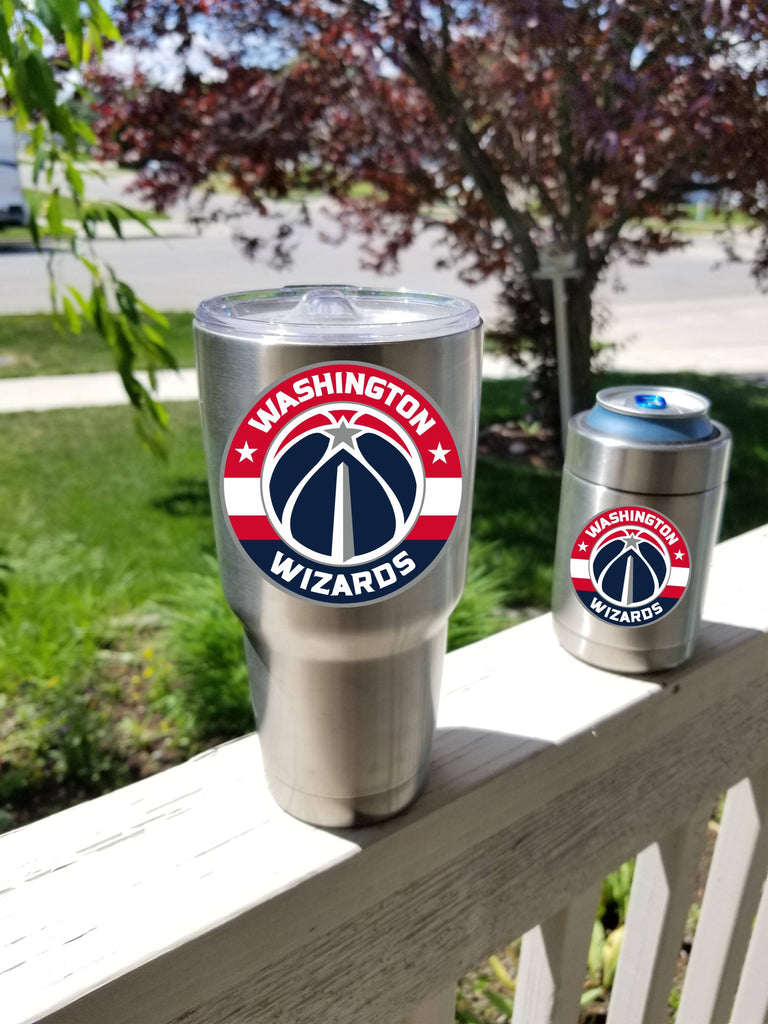 Washington Wizards Tumbler Vinyl Decals fits 30oz & 20oz Tumblers Buy 2 Get 1 Free! Free Shipping!