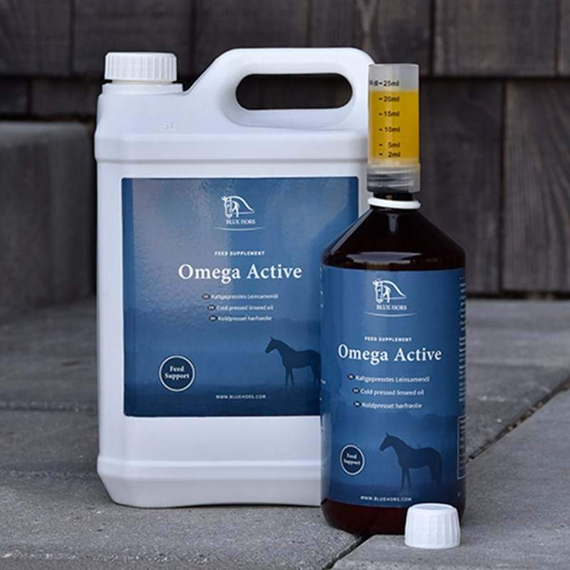 Blue Hors Care Omega Active pellavaöljy 1 l