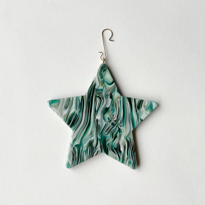 "4"" Star Ornament in Stromanthe - Machete Jewelry"