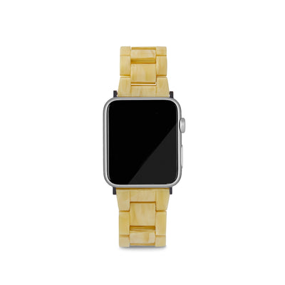 Apple Watch Band in Naples Yellow - Machete Jewelry
