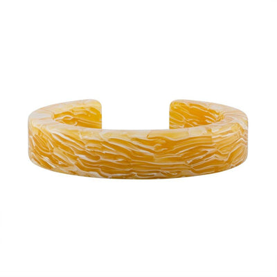 Architect Cuff in Jaune Yellow - Machete Jewelry