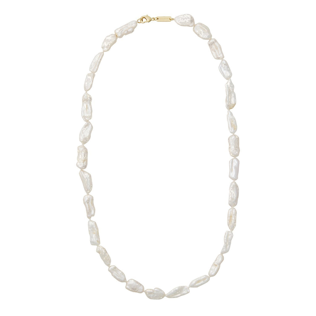 Biwa Pearl Necklace - Machete Jewelry