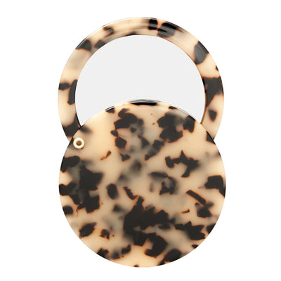 Circle Mirror in Blonde Tortoise - Machete Jewelry