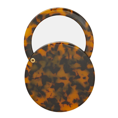 Circle Mirror in Classic Tortoise - Machete Jewelry