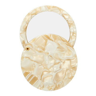 Circle Mirror in Ivory - Machete Jewelry