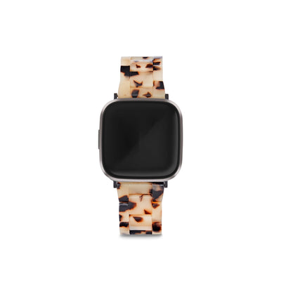 Fitbit Versa Watch Band in Blonde Tortoise - Machete Jewelry