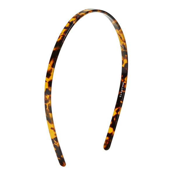 Headband in color Classic Tortoise brown and black.