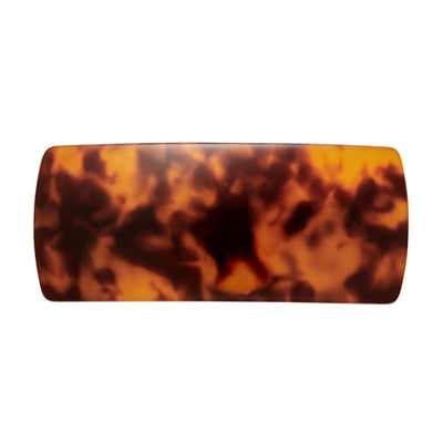 Jumbo Box Clip in Amber - Machete Jewelry