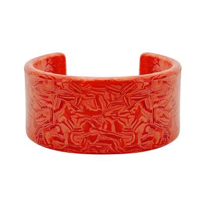 Jumbo Cuff in Poppy - Machete Jewelry