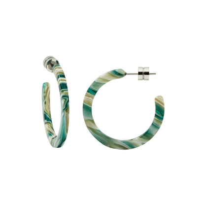 Mini Hoops in Stromanthe - Machete Jewelry