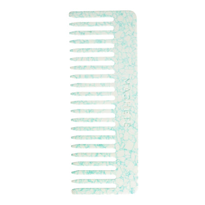 No. 2 Comb in Minted Porcelain - Machete Jewelry