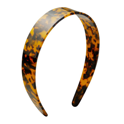 Wide Headband in Classic Tortoise - Machete Jewelry