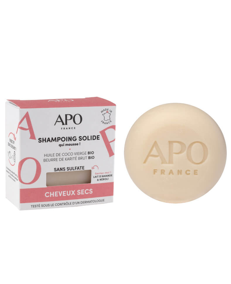 Shampoing Solide - Cheveux Sec - 75g