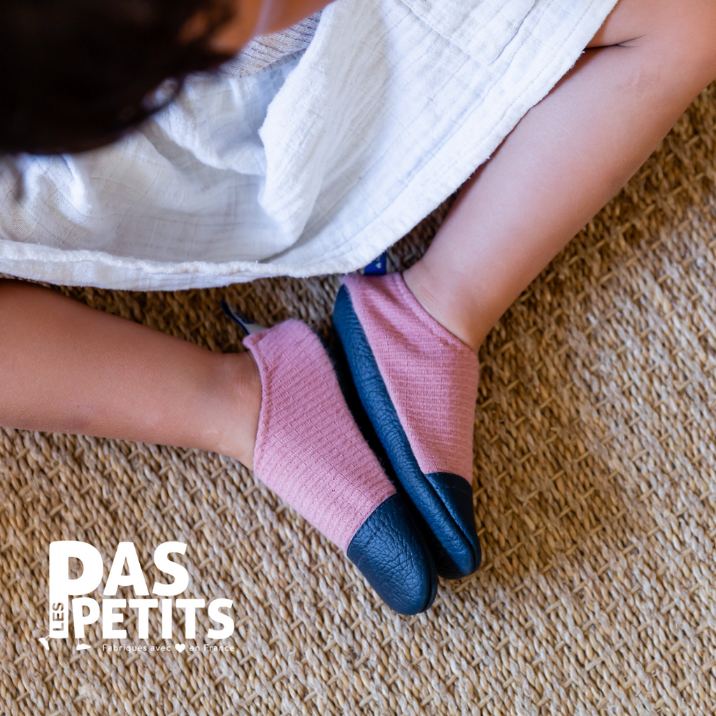 Chaussons - Les petits roses