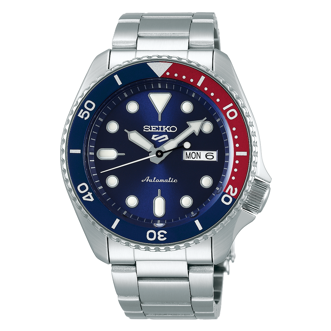 Seiko 5 Sports Automatic Blue Dial Stainless Steel