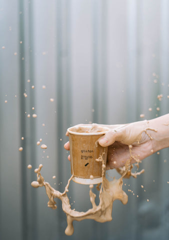 paper cup spill