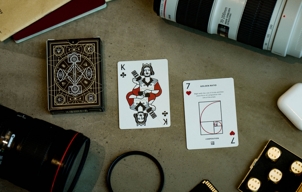 The Photography Deck Flat Lay