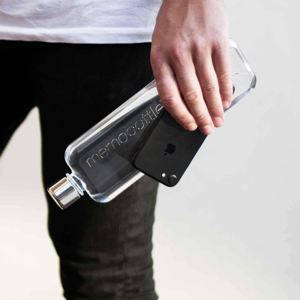 Memobottle with phone