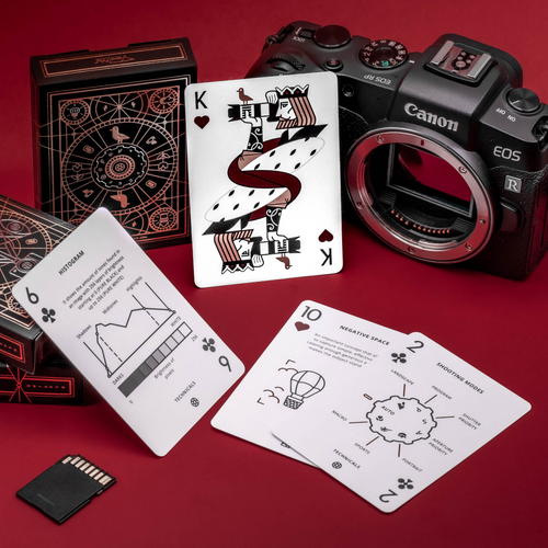 The Photography Deck - Hearts and Clubs