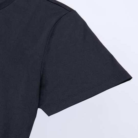 charcoal t-shirt, moustire-wicking technology to manage sweat