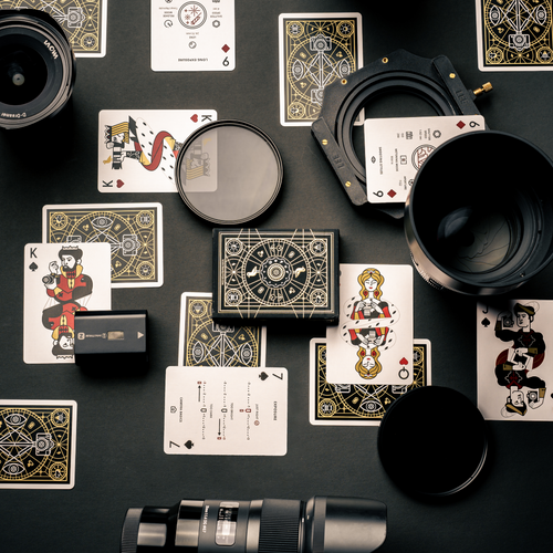 The Photography Deck flatlay