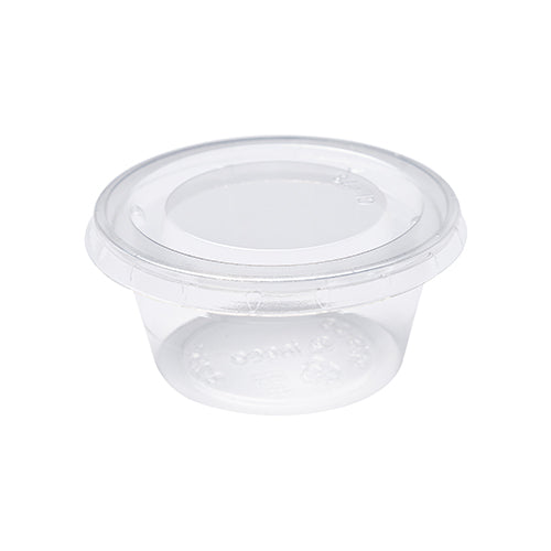 Compostable Portion Cups & Lids