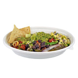 "Burrito Bowl in a 8 x 5 x 1-5/8"" - 20 oz. Oval Bowl"