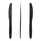 "6.5"" Black CPLA Knives, Case of 1,000"
