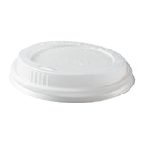 10 to 20 oz. CPLA Hot Cup Lids, Case of 1,000
