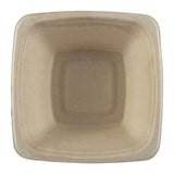 32 oz. Square Tan Bowl