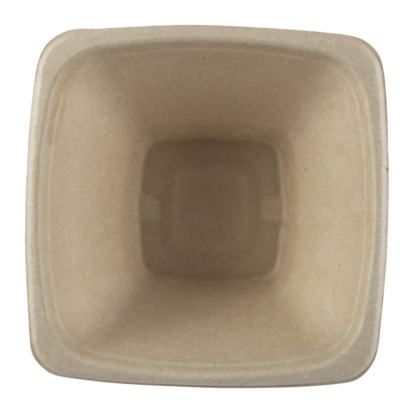 40 oz. Square Tan Bowl