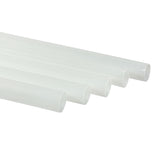 "10.25"" Clear Paper Wrapped Giant PLA Straws, Case of 3,600"