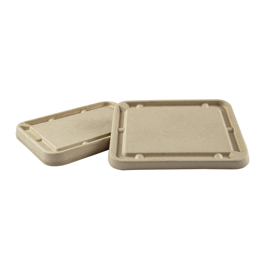 "Fiber Lid for 7 x 9"" Tan Tubs"