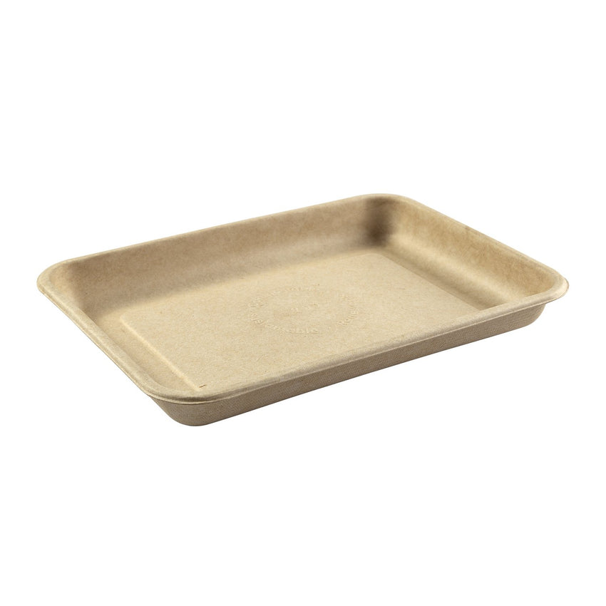 "8.9 x 6.5 x 1"" Molded Fiber Mini Tray"