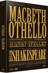 Coffret Macbeth / Othello - 3 Blu-ray + 1 DVD - CARLOTTA FILMS - La Boutique