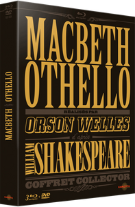 Coffret Macbeth / Othello - 3 Blu-ray + 1 DVD