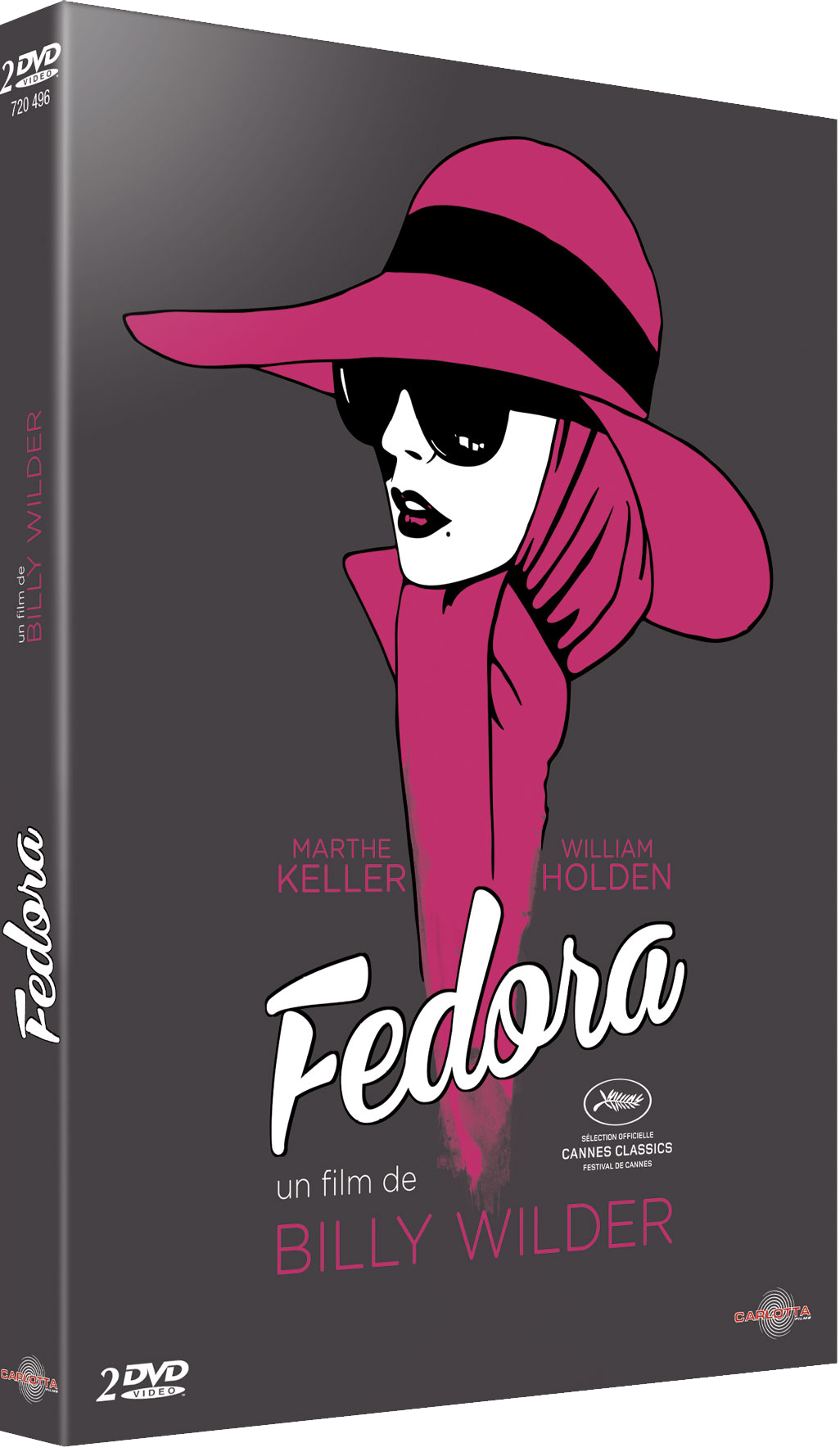 Fedora de Billy Wilder - CARLOTTA FILMS - La Boutique