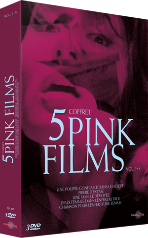 Coffret 5 Pink Films